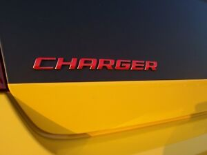 Charger Emblem Overlay Decal For 2006 2014 Dodge Charger