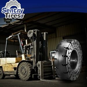 7 50 16 6 00 9 Sentry Tire Solid Forklift Tires Discount Set 4 Tires