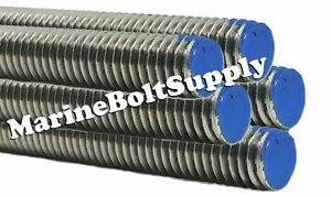 Type 18 8 Stainless Steel Threaded Rod Stainless All Thread 3 Foot Sections