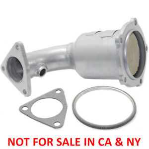 New Radiator Side Steel Catalytic Converter Assembly For Nissan Maxima 1999 2001