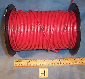 Lot H Red 12awg Simcona Insulated Electric Stranded Copper Wire Cable Spool 12lb