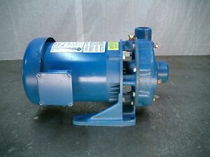 Goulds Bronze Fitted 1 Hp Centrifugal Pump Model 3642