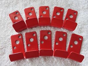 10 slot Wall Hook bracket hanger For 2 1 2 Gallon Water Type Fire Extinguishers