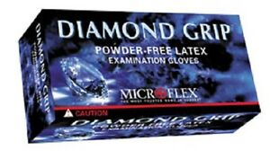 Diamond Grip Gloves Powder Free Full Case 10 Boxes Of 100 Choose Size