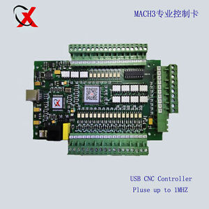 Hi speed Mach3 Usb Cnc 3 axis Motor Stepper Drive Control Board Pulse Upto 1mhz