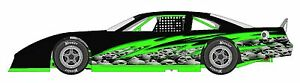 Race Car Wrap Graphics Decals Imca Late Model Dirt 30