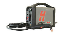 Genuine Hypertherm Powermax 45 Xp Plasma Cutter 20 Hand System 088112 Cutting