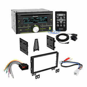 Pioneer Car Radio Stereo Dash Kit Harness For 2001 2006 Ford Lincoln Mercury
