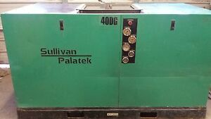 Sullivan Palatek 40dg 40hp Direct Drive Rotary Screw Air Compressor Sullair