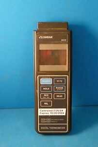 Omega Hh81 Digital Thermometer