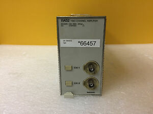 Tektronix 11a52 Dc To 600 Mhz Dual Ch Vertical Amplifier Plug in For Dsa