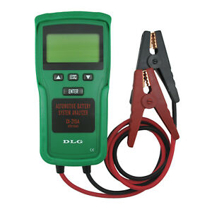 Di 215a Truck Automotive 12v 24v Battery Load Tester English Spanish