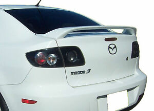 Mazda 3 Factory Style Unpainted Rear Wing Spoiler 2003 2009