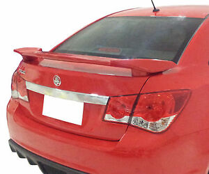 Painted Factory 2 Post Rear Wing Spoiler For A Chevrolet Cruze Sport 2011 2015