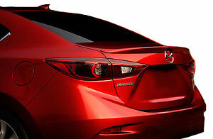 Painted Mazda 3 Flush Mount Factory Style Rear Wing Spoiler 2014 2018