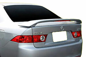 Painted Factory Style Rear Wing Spoiler For An Acura Tsx 2004 2008