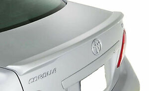 Painted Toyota Corolla Lip Factory Rear Wing Spoiler 2009 2010