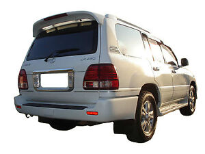 Painted Toyota Land Cruiser Factory Style Rear Wing Spoiler 1998 2007