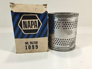 Vintage Napa Gold 1099 Oil Filter New Old Stock