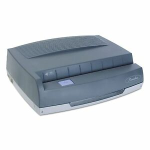 Swingline 9800350 50 sheet 350md Electric Three hole Punch 9 32 Holes Gray