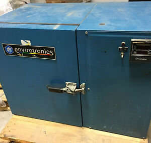 Envirotronics St1 2 Temperature Environmental Test Chamber 16 X 11 x 12