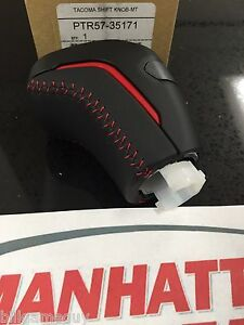 2016 2019 Tacoma Shift Knob Trd Pro Manual Shifter Knob Ptr57 35171 Genuine