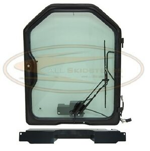 Bobcat Front Door Kit G Series T250 T300 Skid Steer Glass Window Cab Enclosure