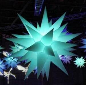 Led Inflatable Star Party Decor With Led Rgb Inflatable Decoration Wedding T