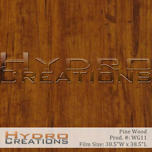 Hydrographic Film Hydro Dipping Water Transfer Pine Wood Grain 38 5 X 38 5