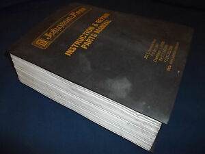 Johnson Ross Concrete Plant Parts Instruction Service Shop Repair Manual Book