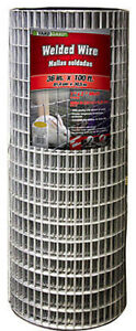 36 X 100 2 X 1 Mesh Galvanized Welded Wire 14 Gauge 222513