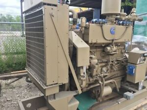 Cummins G12 Natural Gas 117kw 60hz 480v Generator Set 100kw 120kw Propane