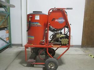 Used Alkota Hot Water Pressure Washer Z0895 4182u 178847 Gfk Tools