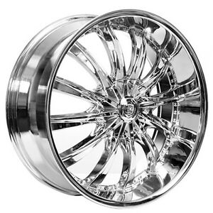 26 Borghini Wheels B19 Chrome Rims