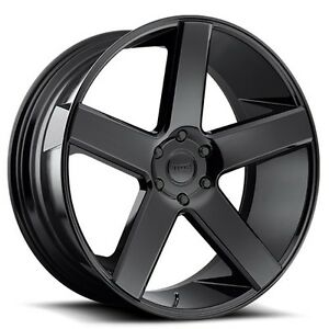 26 Dub Wheels Rims Baller S216 Gloss Black