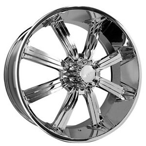 26 Dcenti Wheels Dw903 Chrome Rims