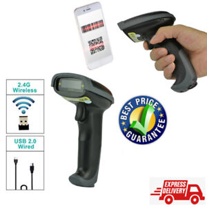 Wireless Bluetooth Barcode Scanner Cordless For Ios Android Windows Phone Pc