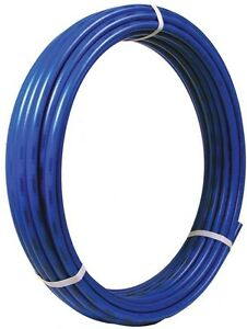 Pex Pipe 3 4 In X 100 Ft Potable Water Supply Tubing Flexible Blue New