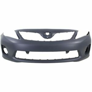 New Front Bumper Cover For Toyota Corolla 2011 2013 To1000372