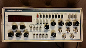 Bk Prec20 Mhz Sweep function Generator