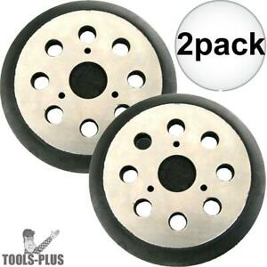 2pk 5 Hook And Loop Replacement Backing Pad Porter cable 151281 08 New