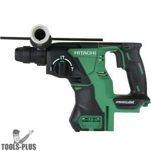 Hitachi Dh18dblp4 18v Brushless Sds Rotary Hammer bare Tool New