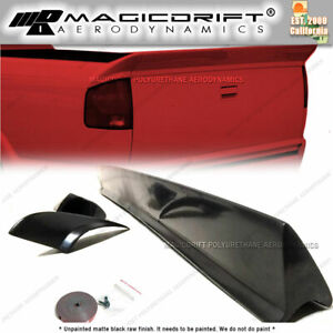 For 94 04 Chevy S10 Tailgate Spoiler Top Protector Truck Wing Cover Cap Molding