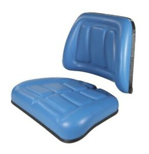 F1nnb401aa Seat Cushion Kit W Backrest Bottom For Ford Tractor 3230 3430 3930