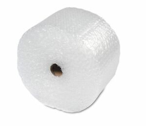 Perforated Shipping Bubble Wrap Material Cushion Shipment Protector 100 ft New