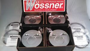 Wossner Forged Pistons Porsche 944 Na 101 0 Mm Bore 10 6 cr Part K9476d100