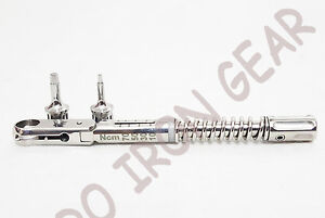 Dental Implant Torque Wrench Ratchet 10 70 Ncm Hex 1 5mm And 2 5mm With Driver