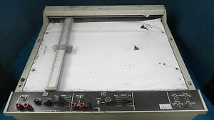 Hewlett Packard Hp 7044a X y Plotter Recorder For Parts