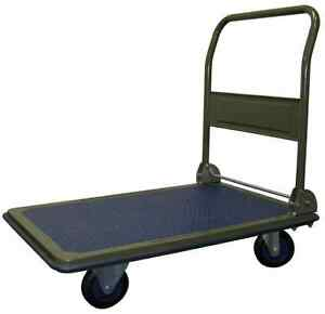 Platform Cart Folding Heavy Duty Utility 600 Lb Capacity Steel Moving Furniture