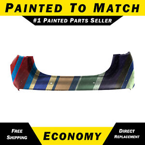 New Painted To Match Rear Bumper Cover For 2013 2018 Ford Fusion W Active Park